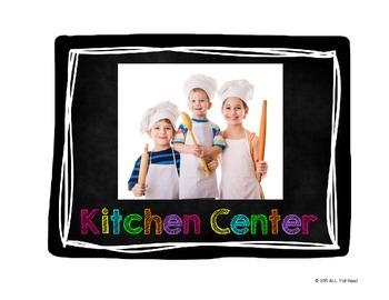 Classroom Centers Posters