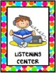 Polka Dots {Classroom Centers Posters}