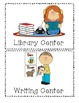 Classroom Centers Signs
