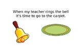 Classroom Centers Social Story