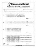 Classroom Cereal Grammar Growth Assessment