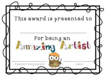 End of the Year Awards {Editable}