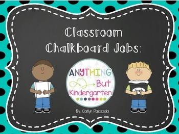 Classroom Chalkboard Job