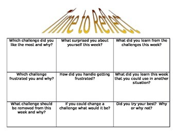 Classroom Challenges in One Minute Reflections