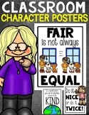 Classroom Character Posters
