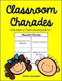 Classroom Charades (Perfect for Reviewing Procedures!)