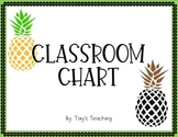 Classroom Chart