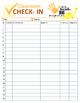 Classroom Check In Forms