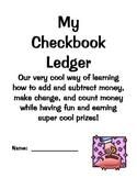 Classroom Checkbook Ledger