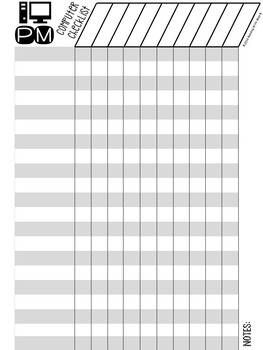 Classroom Checklists {Editable File Included!}