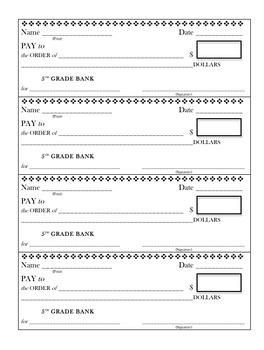 Classroom Checks, editable