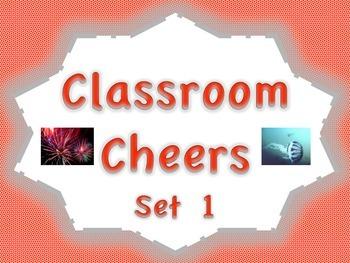Classroom Cheers Set 1