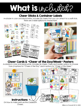 Classroom Cheers: 24 Creative, Fun, and Class Building Ways to Give Praise