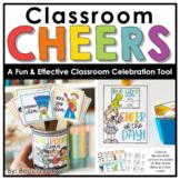 Classroom Cheers   Classroom Celebration Tool   Positive C