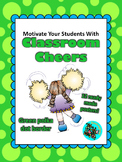 Classroom Cheers Green Polka Dot