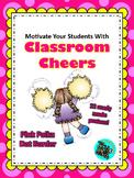 Classroom Cheers Pink Polka Dot
