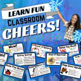 Classroom Cheers: Printable Card Set