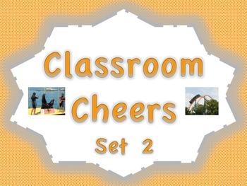Classroom Cheers Set 2