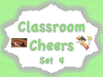 Classroom Cheers Set 4