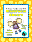 Classroom Cheers Yellow Polka Dot