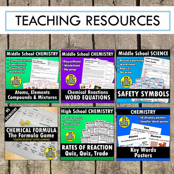 Classroom Chemist - FREE Resource pack