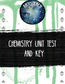 Classroom Chemistry Unit Test with Key