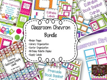 Classroom Chevron Bundle
