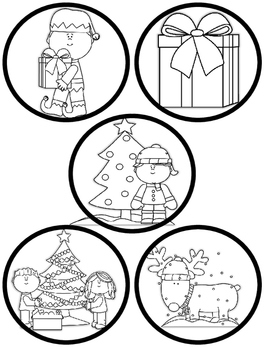 Classroom Christmas Ornaments