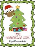 Classroom Christmas Owl - Classroom Management/Writing