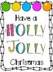 Classroom Christmas Posters (FREEBIE!)
