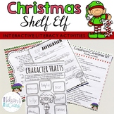 Classroom Christmas Shelf Elf - Interactive and Literacy A