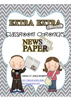 Classroom Chronicles: A Classroom Created Newspaper