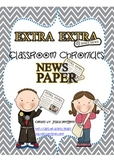 Classroom Chronicles: A Classroom Created Newspaper