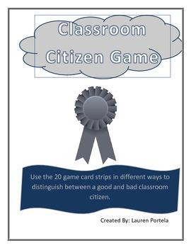 Classroom Citizen Game