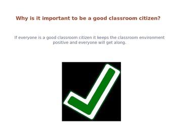 Classroom Citizenship