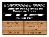 Classroom City Bundle: Classroom Theme, Economy and Management System