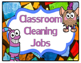 Classroom Cleaning Chart