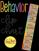 Classroom Clip Chart {Multi-color & Brown Bag}