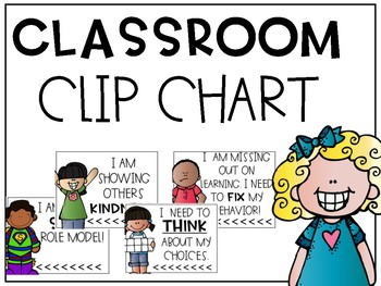 Classroom Clip Chart with Money Option