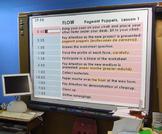 Classroom Clock Column