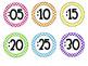 Classroom Clock Labels {Minute Labels}