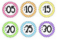 Classroom Clock Labels {Minute Labels}