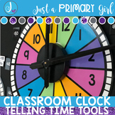 Classroom Clock - Telling Time Tools -Bundle