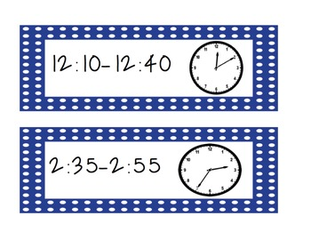 Classroom Clocks