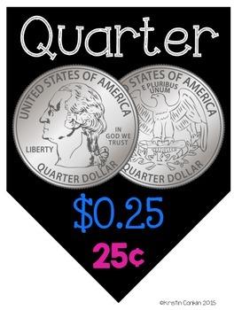 Classroom Coin Pennants