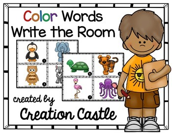 Classroom Color Posters