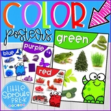 Classroom Decor - Color Posters for Prek, Preschool and K,