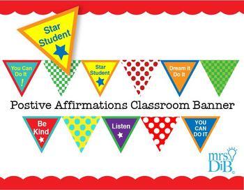 Classroom Decor -  Colorful Banner Artwork ** ORIGINAL ARTWORK
