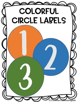 This is a picture of Effortless 3.5 Circle Labels