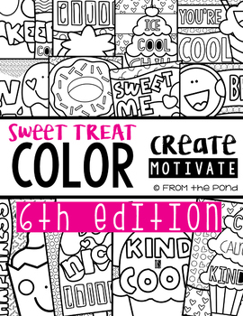 Classroom Coloring Posters - Edition 6 {Sweet Treat}